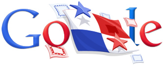 Google Logo: Panama Independence Day